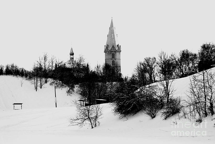 Church In The Hills Photograph
