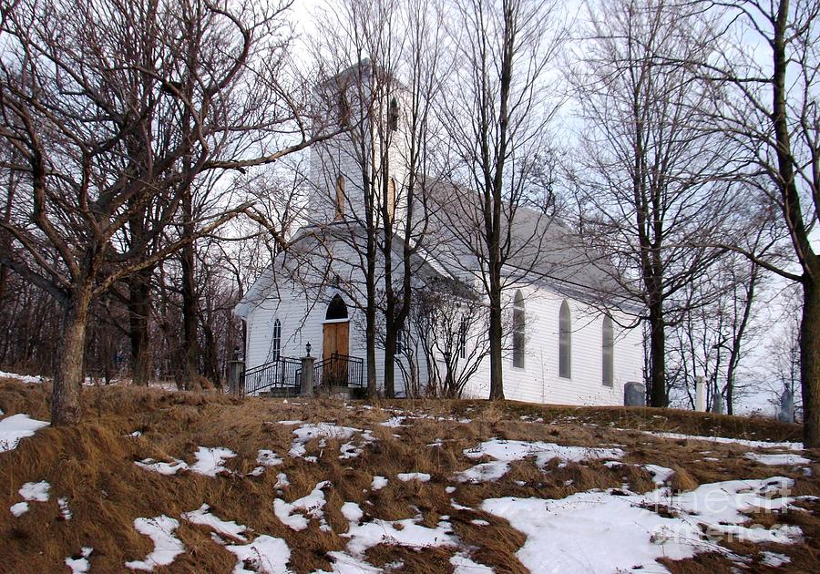 Church Photograph - Church In The Woods by Margaret Hamilton