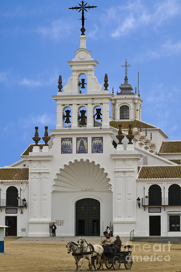 Church Of Nuestra Senora Del Rocio Photograph