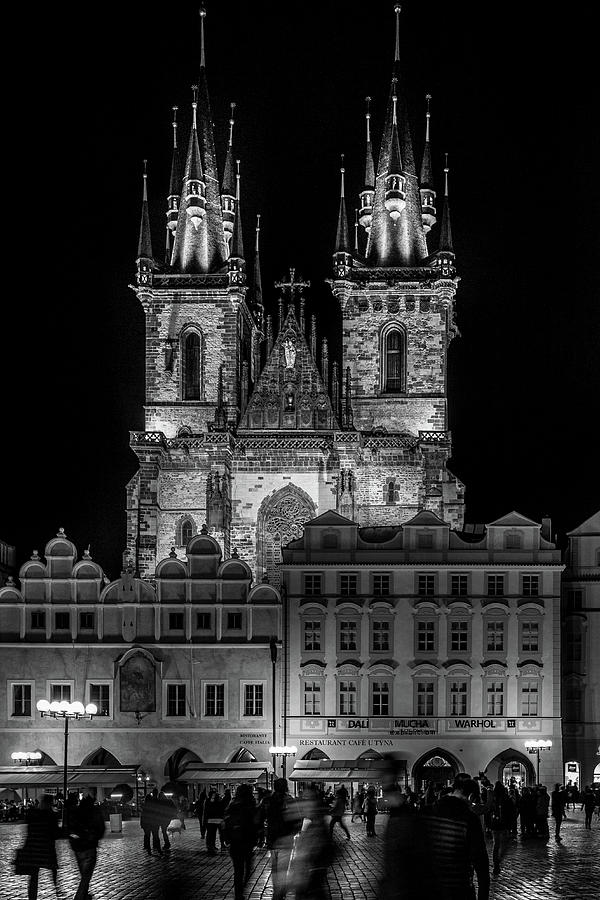 Church of Our Lady before Tyn in Prague by Robert Davis