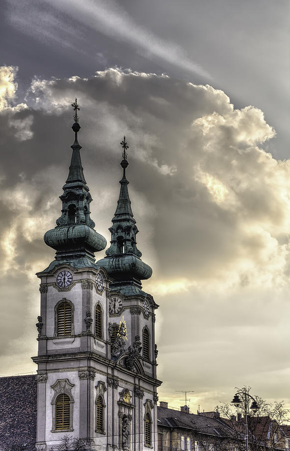 5ds Photograph - Church of St. Anne or Szent Anna Templom by John Hoey