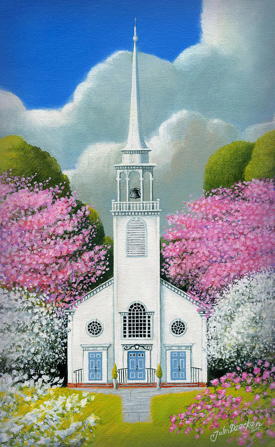 Church of the Dogwoods by John Deecken