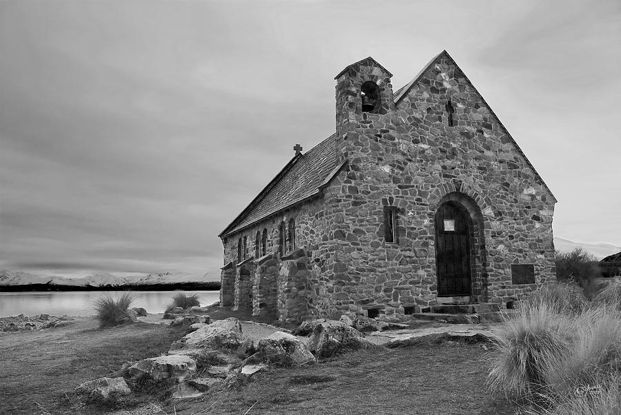 Landscape Photograph - Church Of The Good Shepherd by Andrea Cadwallader