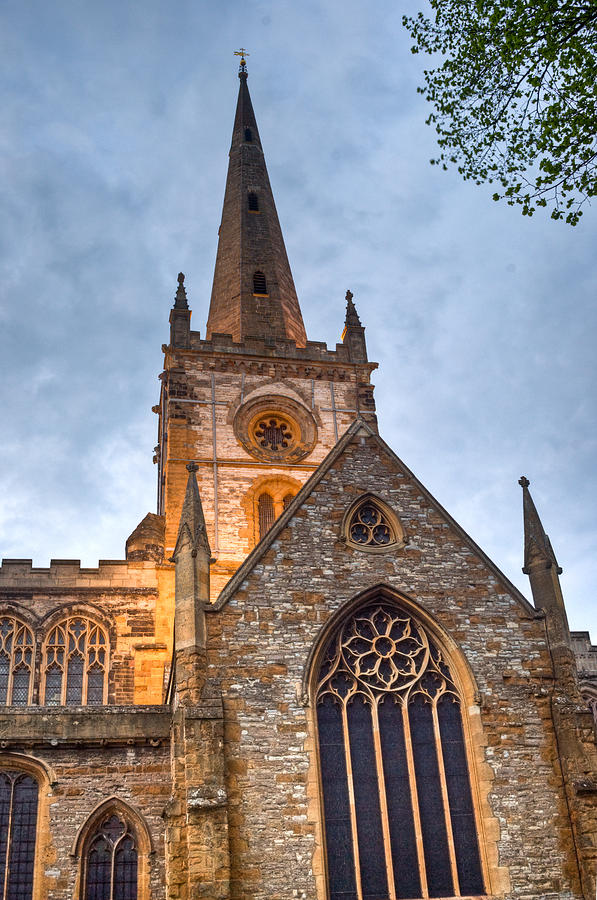 Church Photograph - Church Of The Holy Trinity Stratford Upon Avon 2 by Douglas Barnett