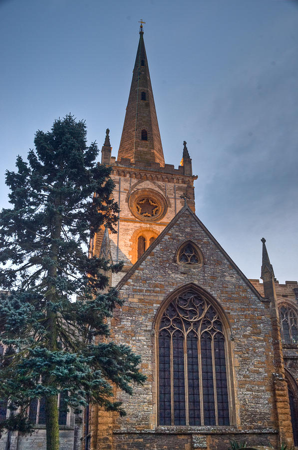 Church Photograph - Church Of The Holy Trinity Stratford Upon Avon 4 by Douglas Barnett