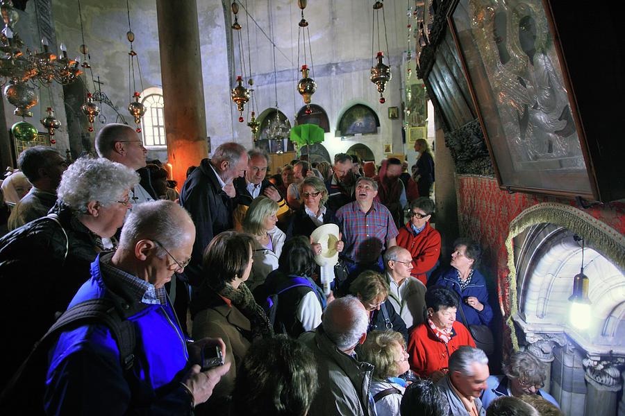 Bethlehem Photograph - Church Of The Nativity Bethlehem by Zoriy Fine