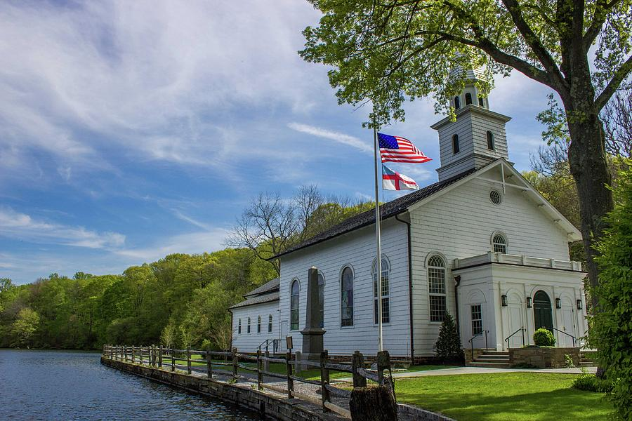Church Photograph - Church On The Water by Roderick Breem