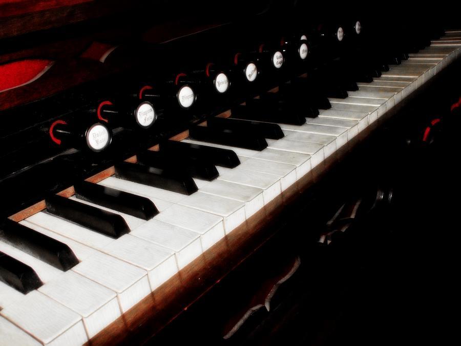 Hovind Photograph - Church Organ by Scott Hovind
