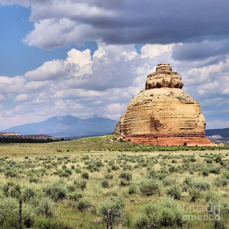 Church Rock Photograph - Church Rock 3 by William Schlabach