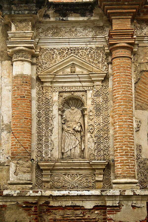Church Ruins Antigua Guatemala 1 Photograph