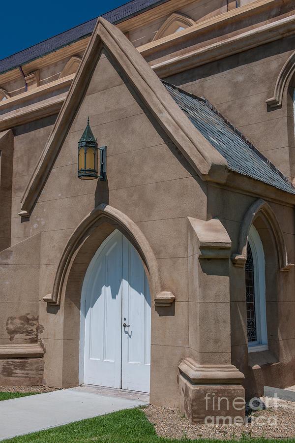 Church Side Entrance Photograph