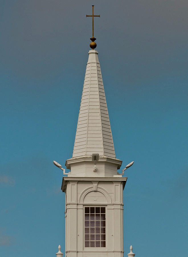 Church Steeple by Ed Cabral