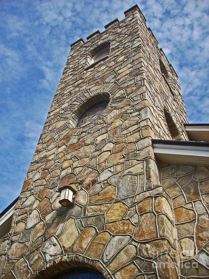 Church Tower Photograph - Church Tower by Beebe  Barksdale-Bruner