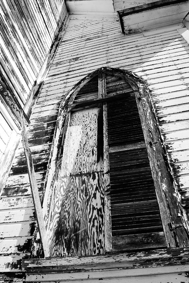 Church Photograph - Church Window by Tom Melo