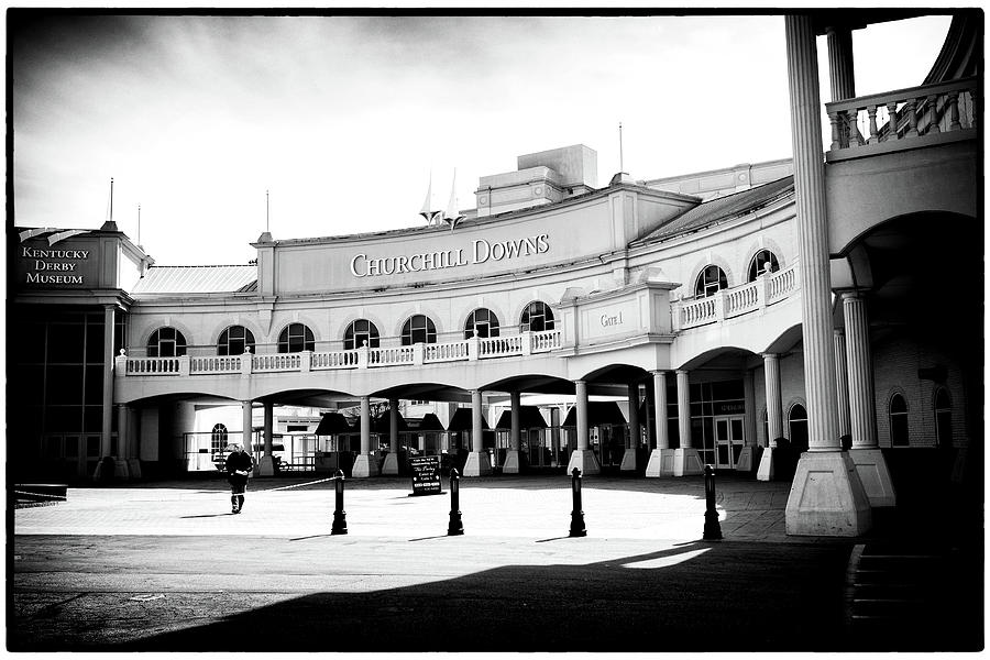 Churchill Downs Photograph - Churchill Downs by Tanya Harrison
