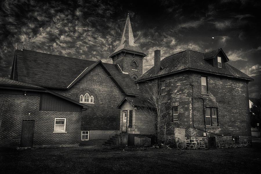 Abandoned Photograph - Churh For Sale by Jakub Sisak