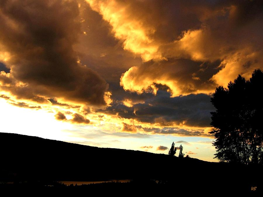 Sunset Photograph - Churning Clouds 1 by Will Borden