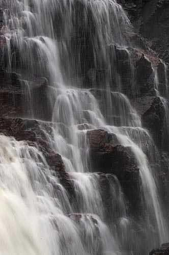 Waterfall Photograph - Chutes Des Coulonge Quebec by Catherine Kelly