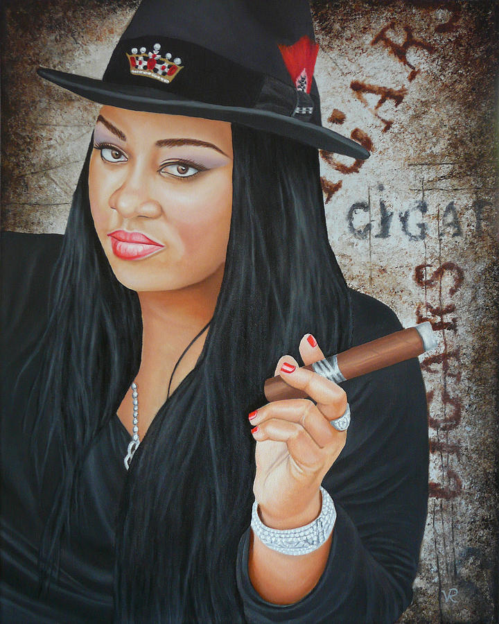 Cigar Art Queen by Vic Ritchey