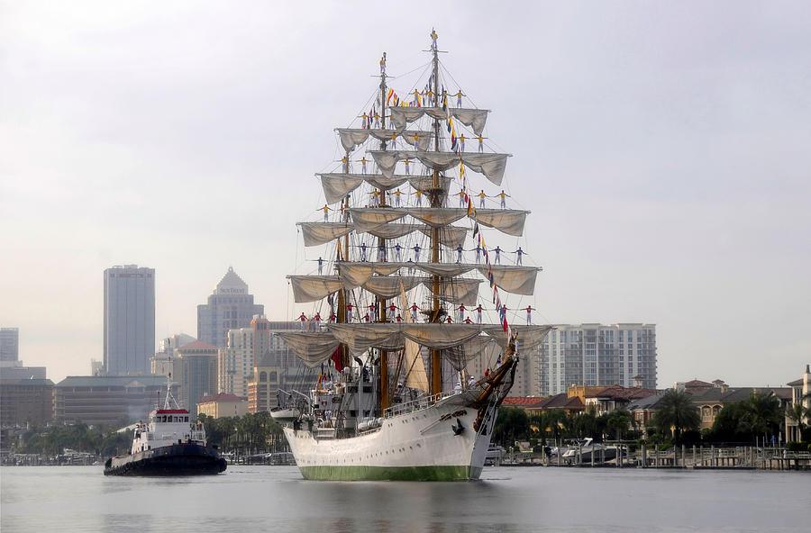 Sailing Ship Photograph - Cigar City Sailing by David Lee Thompson