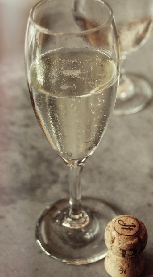 Champagne Photograph - Cin Cin Champagne Therapy by JAMART Photography