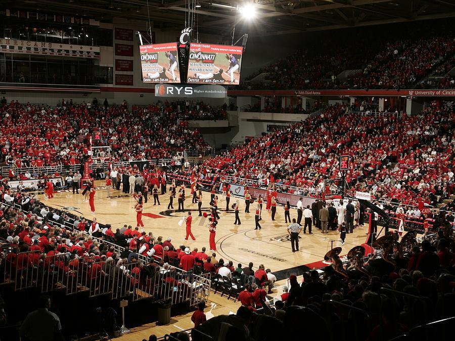 Cincinnati Photograph - Cincinnati Bearcats Fifth Third Arena by Replay Photos