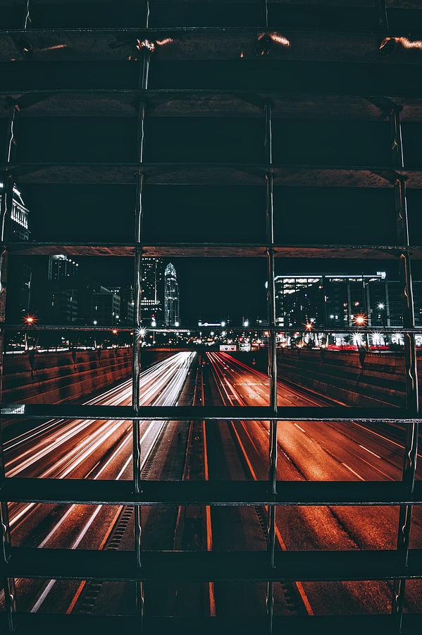 Cincinnati Photograph - Cincinnati From The Bridge by Jake Blucker