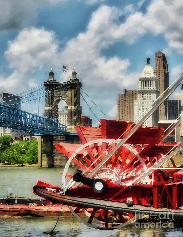 Cincinnati Photograph - Cincinnati Landmarks 1 by Mel Steinhauer