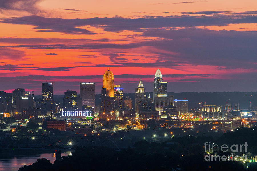 Cincinnati Sunrise by Jason Finkelstein