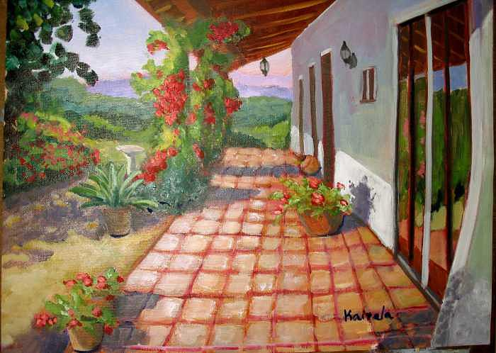 Landscape Painting - Cinco Arroyos by William Kairala