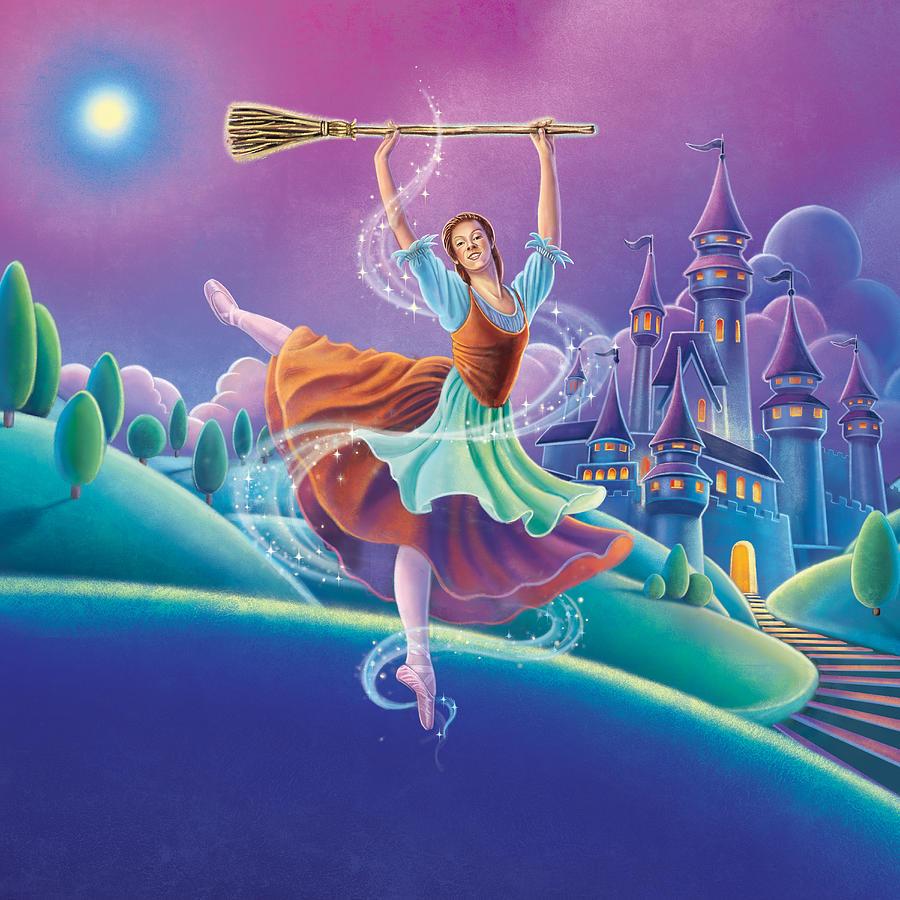 Cinderella Painting - Cinderella by Anne Wertheim
