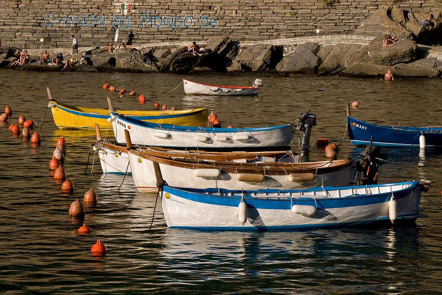 Italy Photograph - Cinque Terre  by Carl Jackson