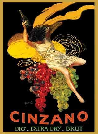 Vintage Painting - Cinzano by Leonetto Cappiello