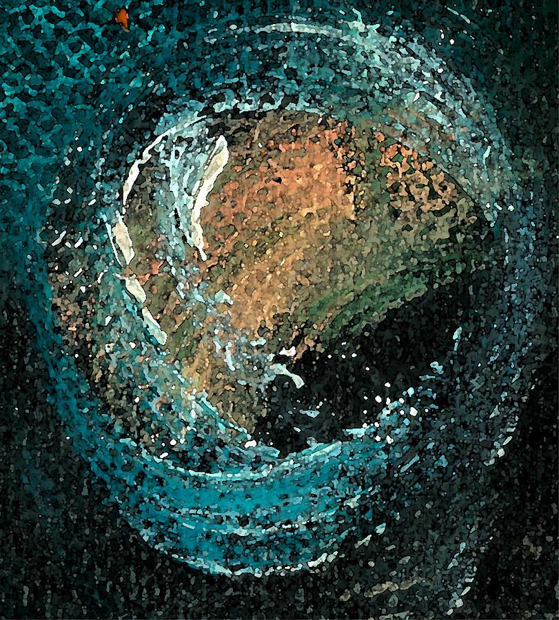 Circ Painting - Visitors Eye by Jorge Delara