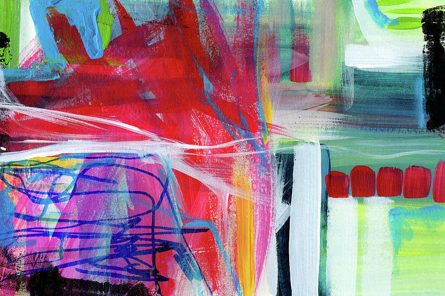 Rhythm Abstract Art