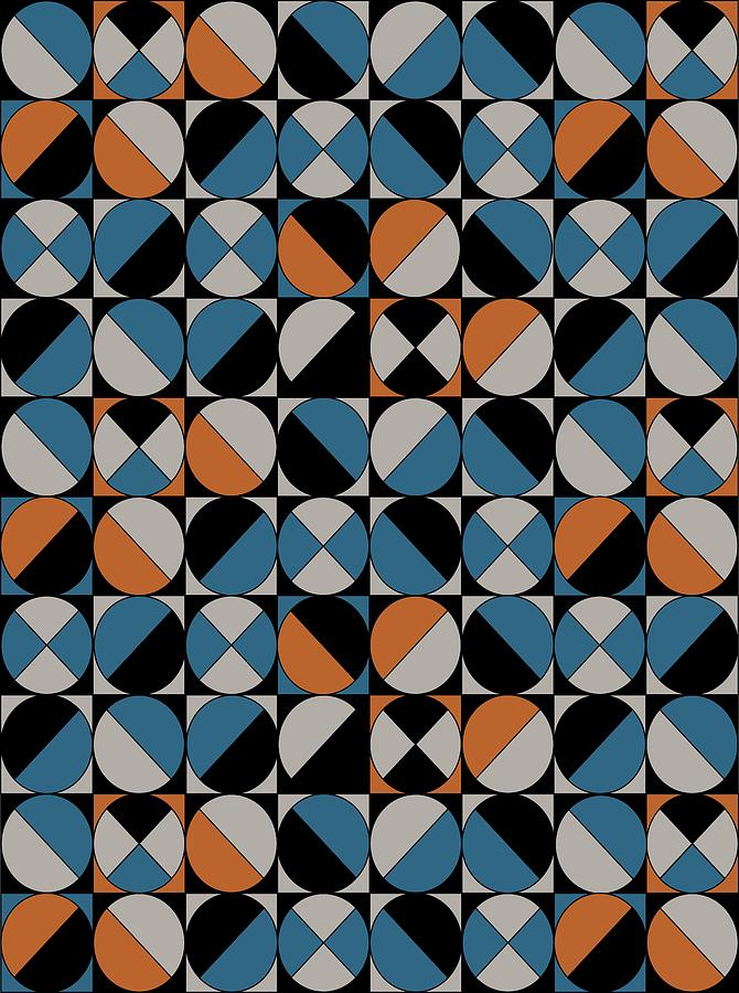 Circle grid template