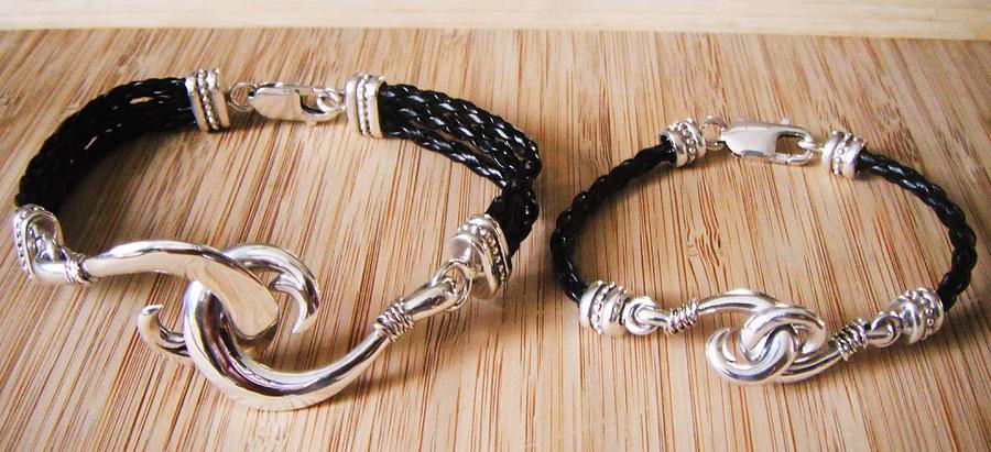 Circle Hook Jewelry - Circle Hook Bracelet by Carey Chen