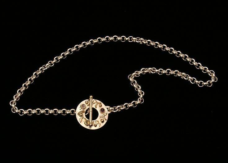 Circle Necklace Jewelry by Linda Bickel