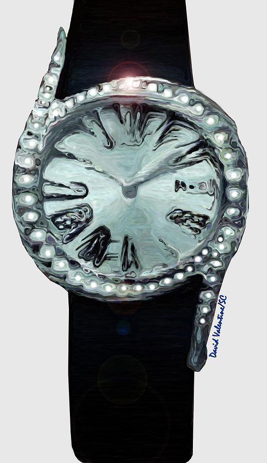 Circle of Diamonds Timepiece by David Valentine