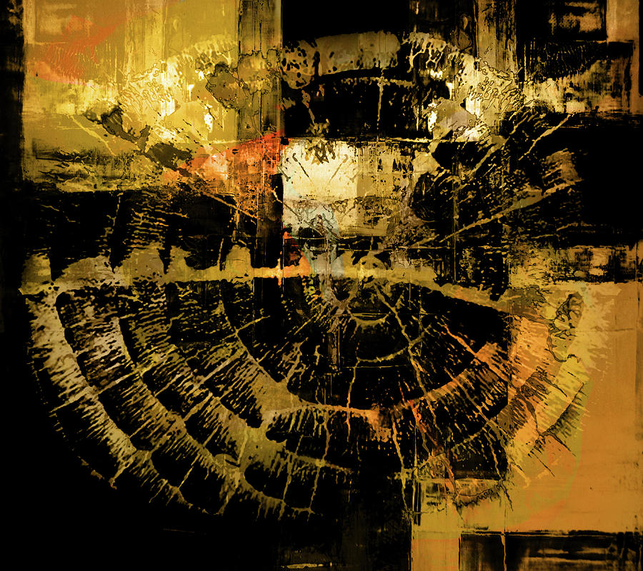Circle Shibori by Artby Jossarang