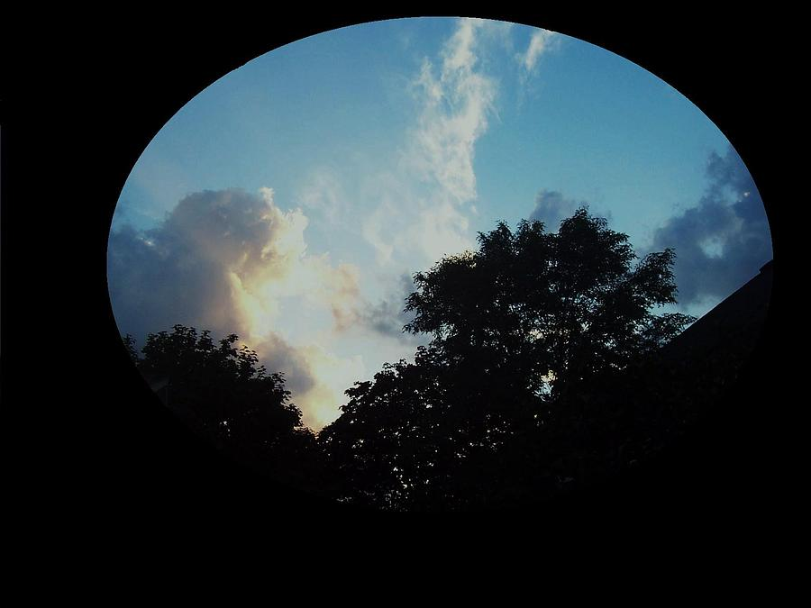 Clouds Photograph - Circle World by Richard  Hubal