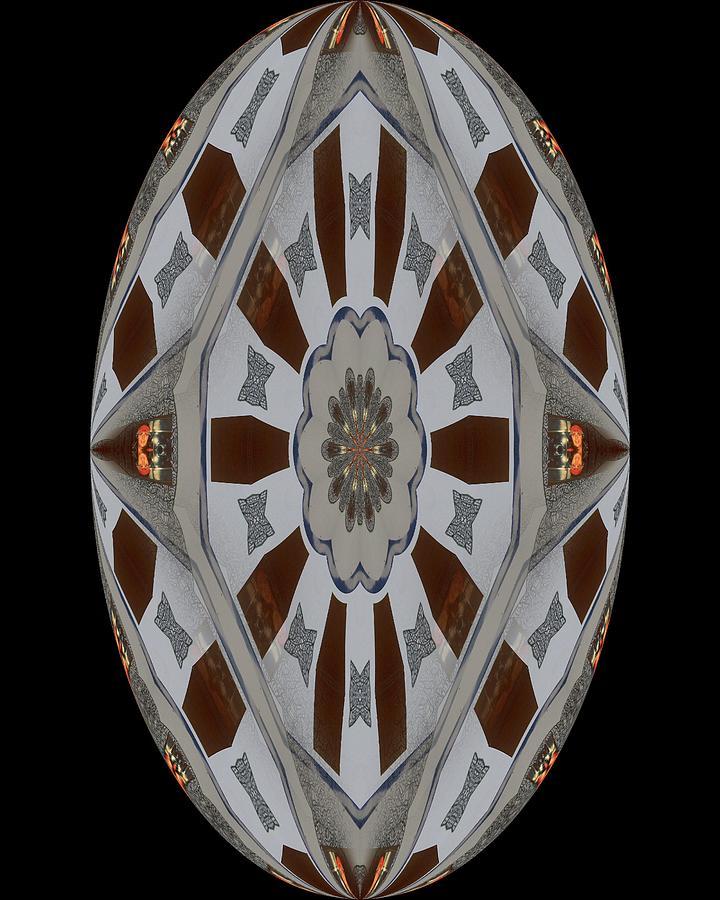 Circleflower Digital Art by Ian Richard  Laws