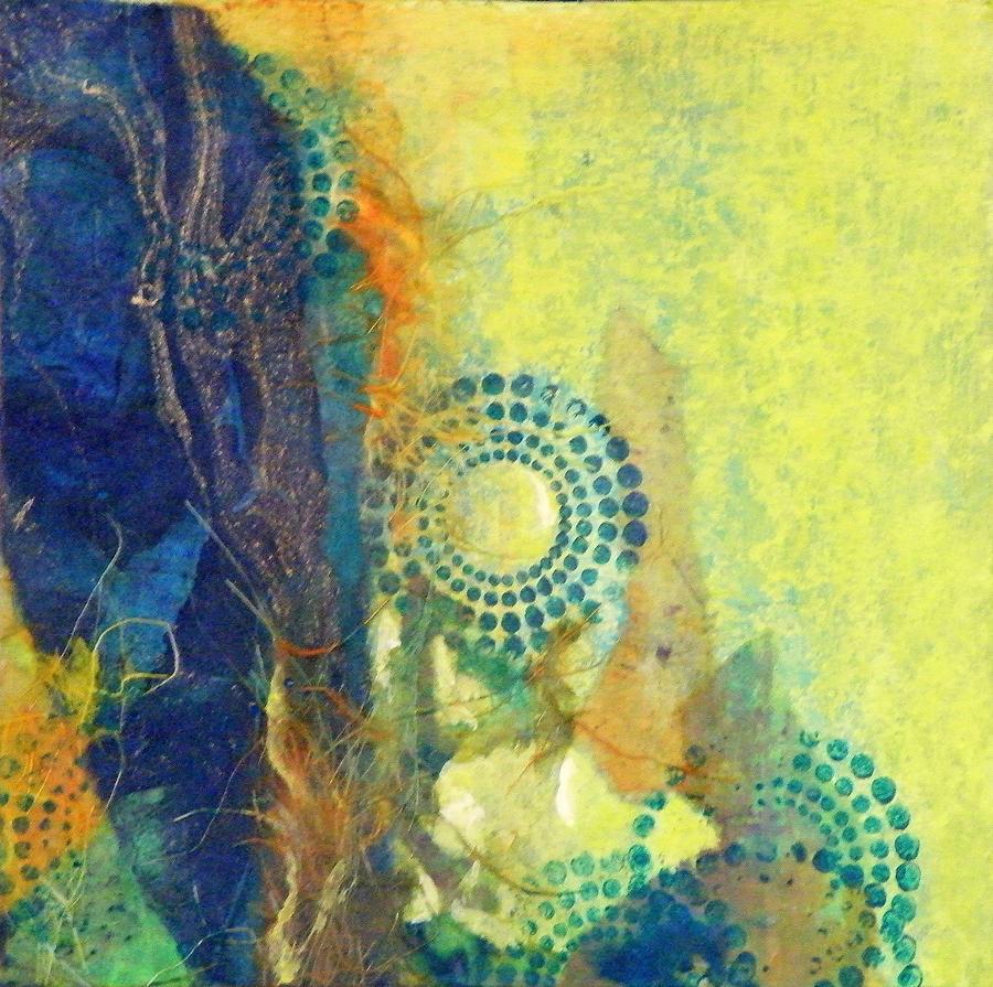 Mixed Media Painting - Circles 1 by Tara Milliken