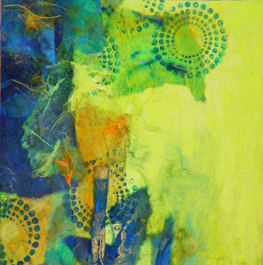 Mixed Media Painting - Circles 2 by Tara Milliken