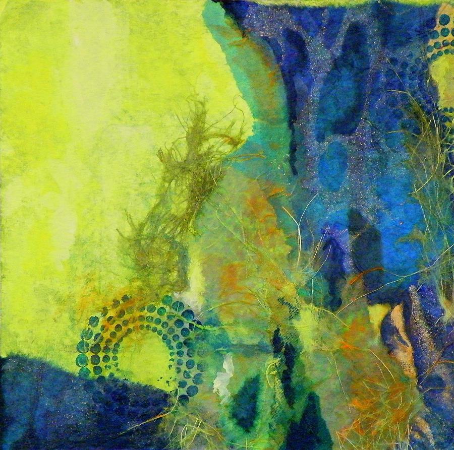 Mixed Media Painting - Circles 3 by Tara Milliken