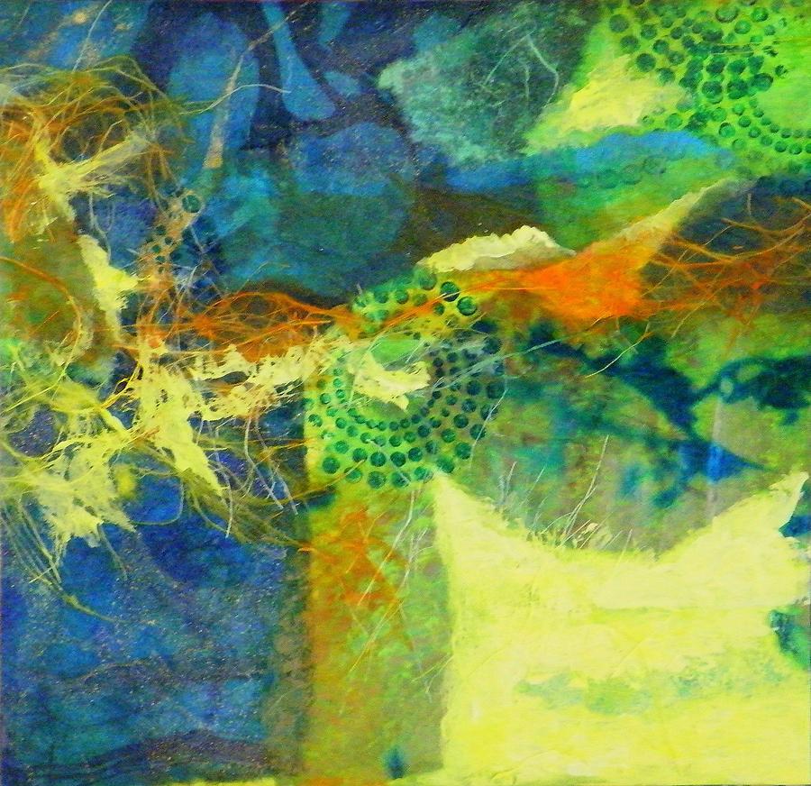 Mixed Media Painting - Circles 4 by Tara Milliken