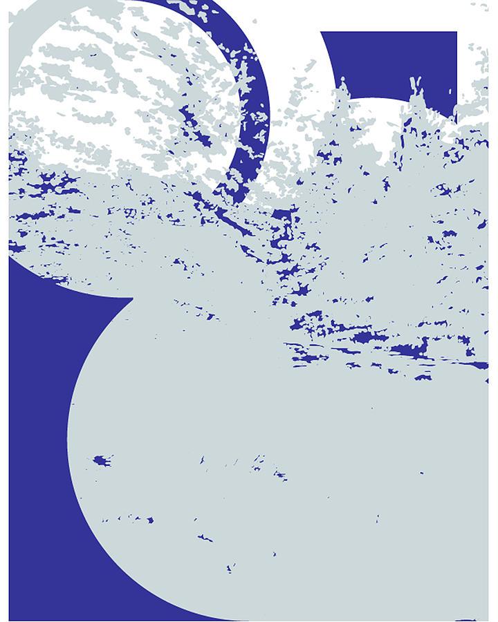Sketch Digital Art - Circles Around by Poster Book