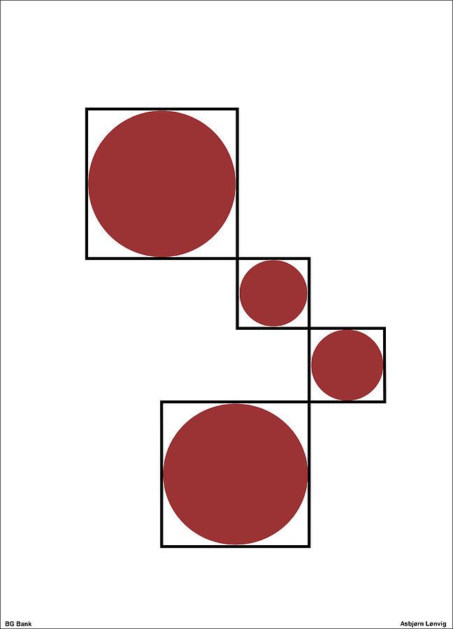 Circles Digital Art - Circles by Asbjorn Lonvig
