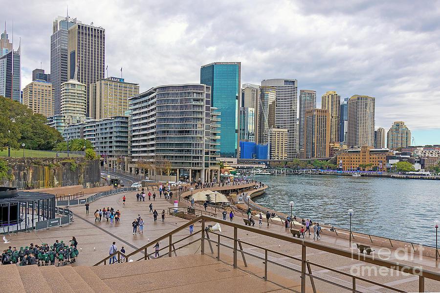 Circular Quay, Sydney, Australia by Elaine Teague