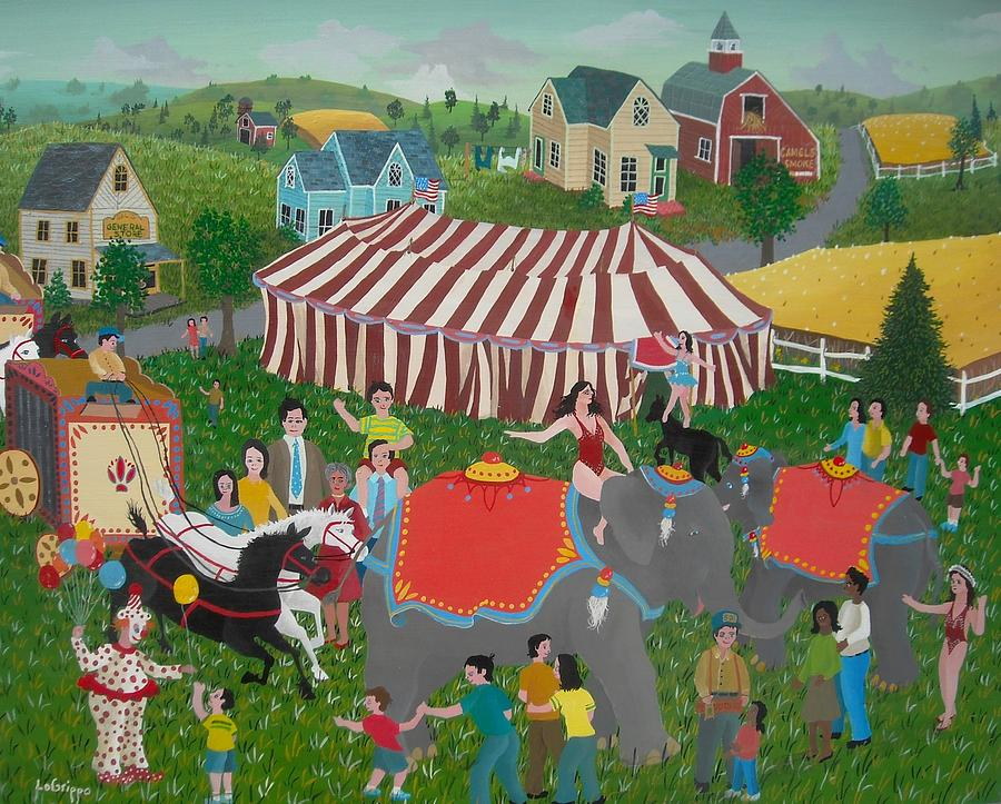 Circus Day  by Robert  Logrippo